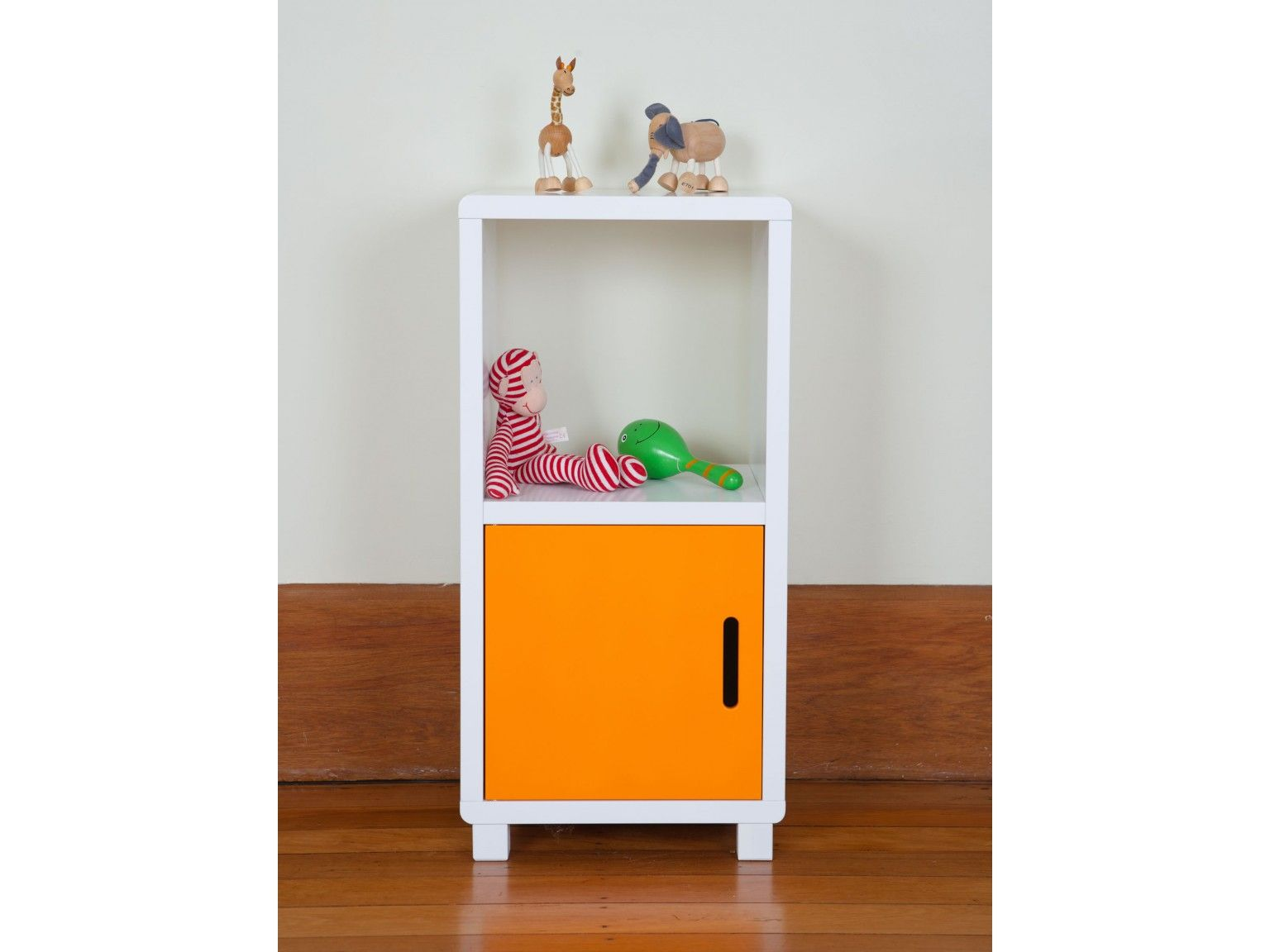 mocka two cube storage unit - orange door | products that desire
