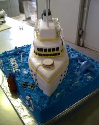 Ship birthday cake for 1year old Birthday cakes Cake and Birthdays