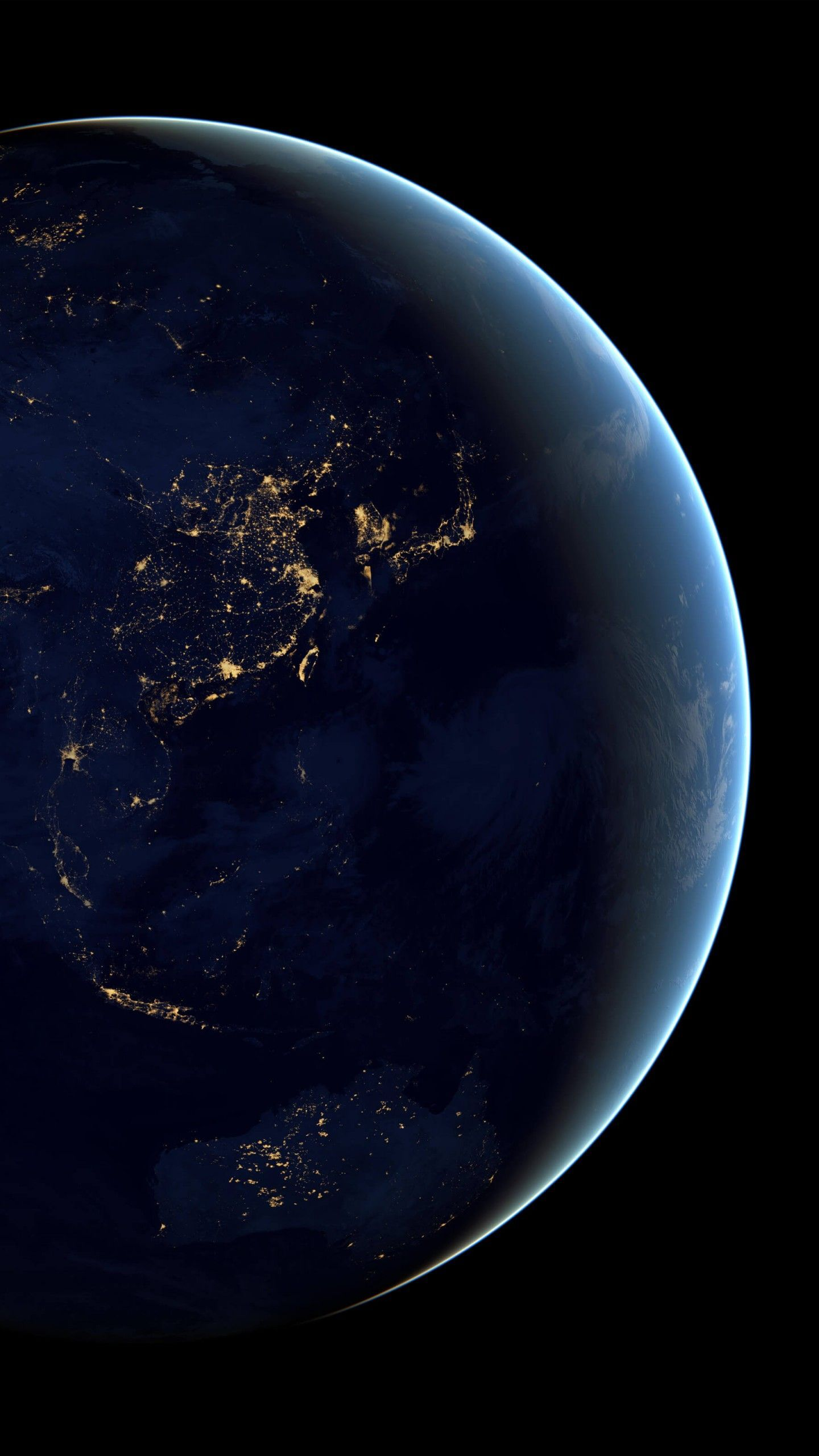 Earth From Space Mobile Wallpaper Http Wallpapers And Backgrounds Net Earth From Space Mobile Wallpaper Wallpaper Earth New Wallpaper Iphone Earth At Night