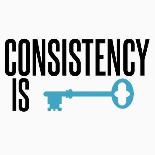 Consistency Is Key Motivation Consistency Is Key Fitness Quotes
