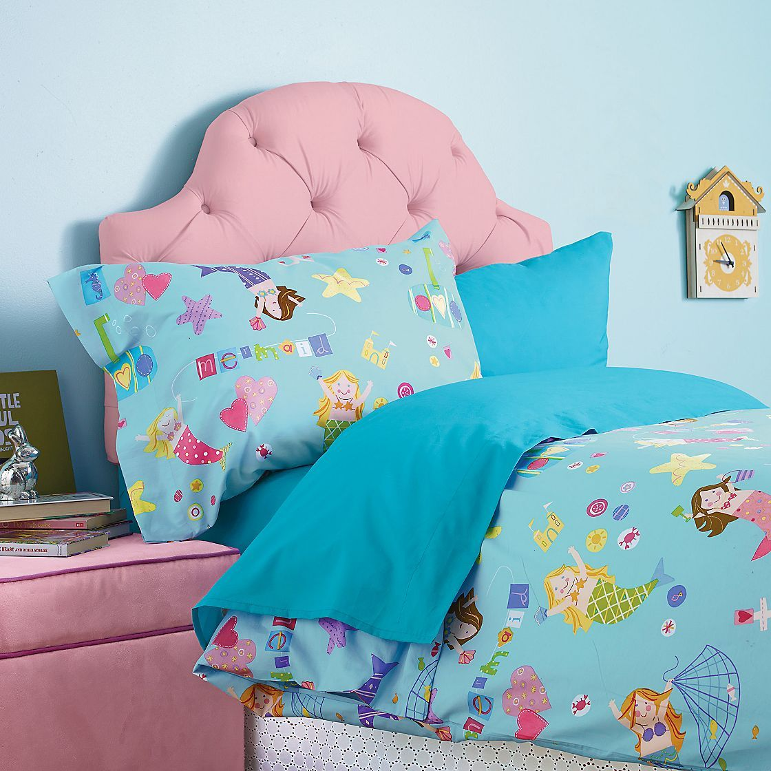 mermaid magic percale bedding company kids fun kid sheets - Kid Sheets