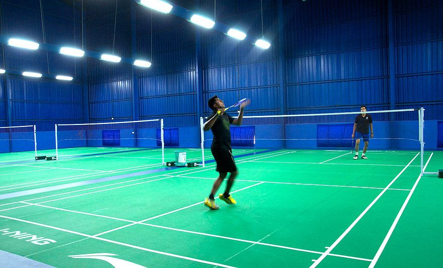 Baddyzone Badminton Tirumanahalli Bangalore Badminton Badminton Court Court