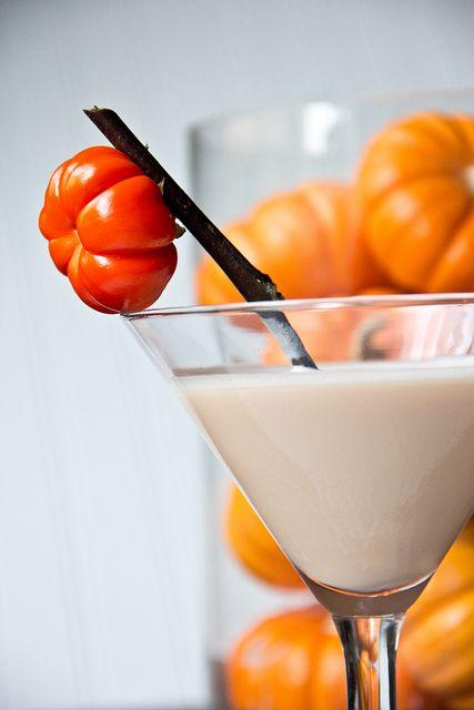 Pumpkin Cake Martini by DaydreamerDesserts also pumpkin pie and