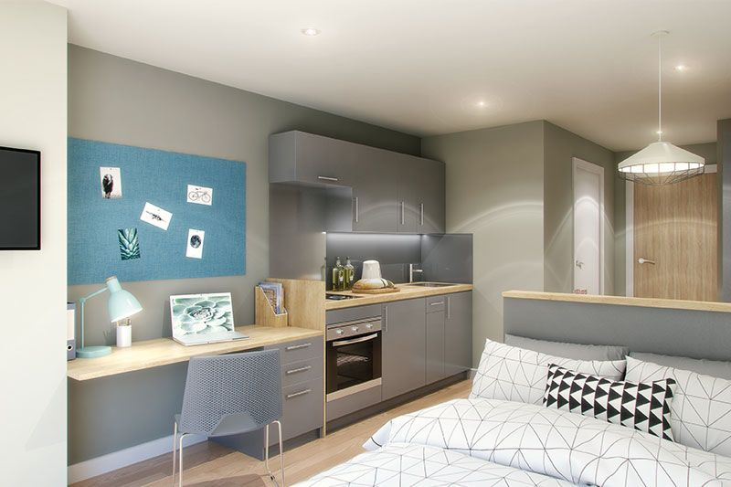 Concept Place Leeds Student Accommodation University Living In 2020 Student Accommodation Tiny House Interior Study Room Decor