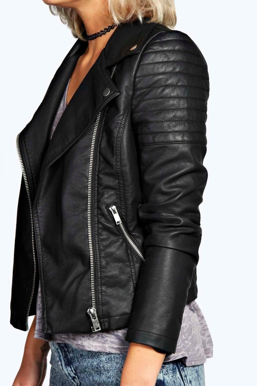 Jade Faux Leather Biker Jacket In 2020 Vegan Leather Jacket Women Faux Leather Biker Jacket Leather Jackets Women