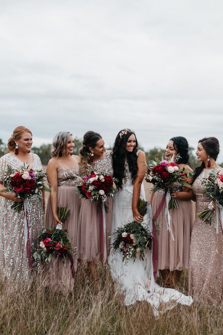Sequinned blush bridesmaid dresses design fashion pinterest sequinned blush bridesmaid dresses ombrellifo Image collections