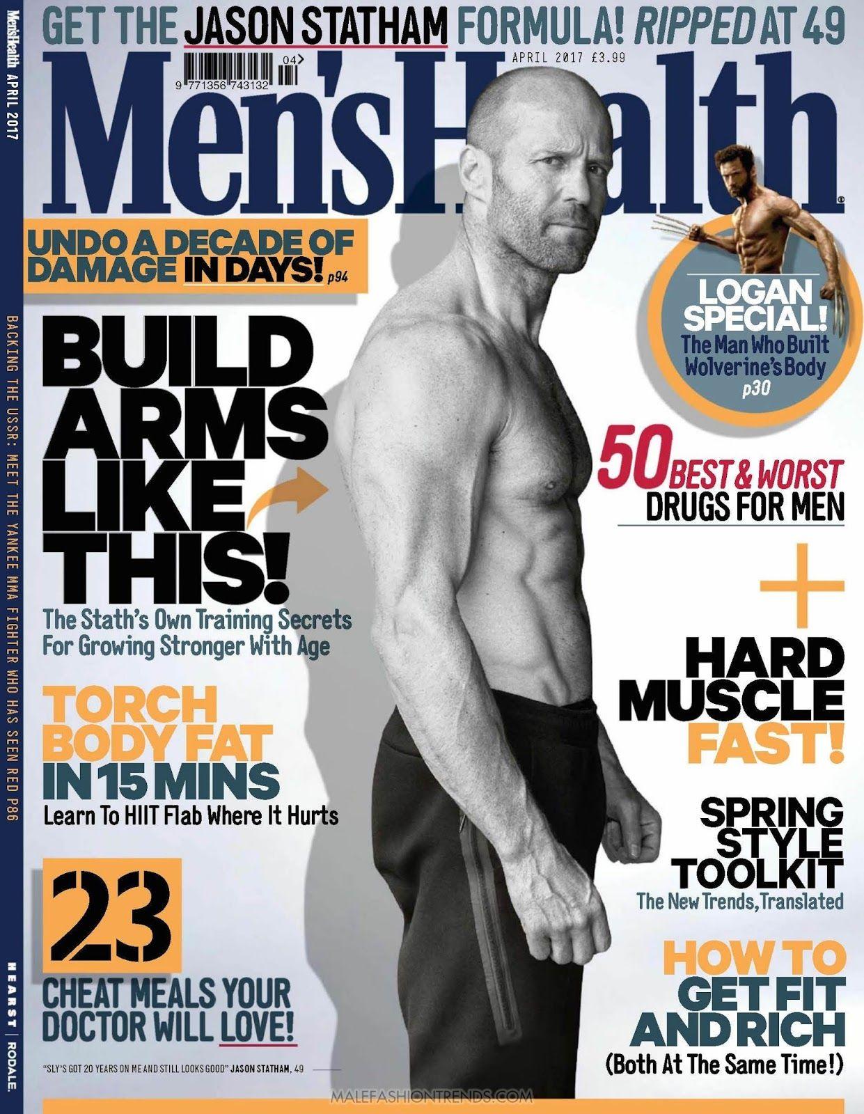 099380f36c1 Jason Statham para Men s Health UK por Daniel Smith