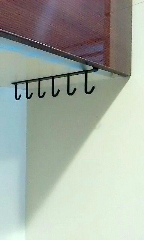 吊り下げ戸棚に差し込むだけ 簡単設置の便利収納 山崎工業 Yamazaki