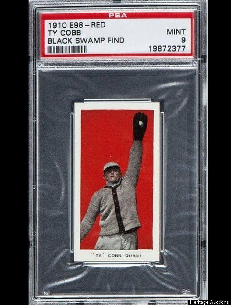 1910 ty cobb baseball cards rare baseball cards ty cobb