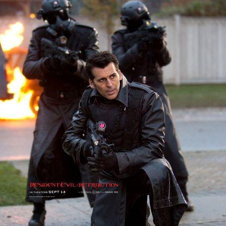 Oded Fehr As Carlos Olivera Resident Evil Retribution Resident Evil Movie Resident Evil Resident Evil Hunk
