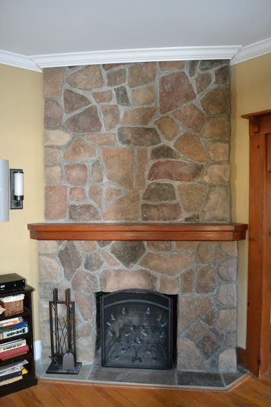 Attractive New Fireplace Mantel And Crown Molding   Monku0027s