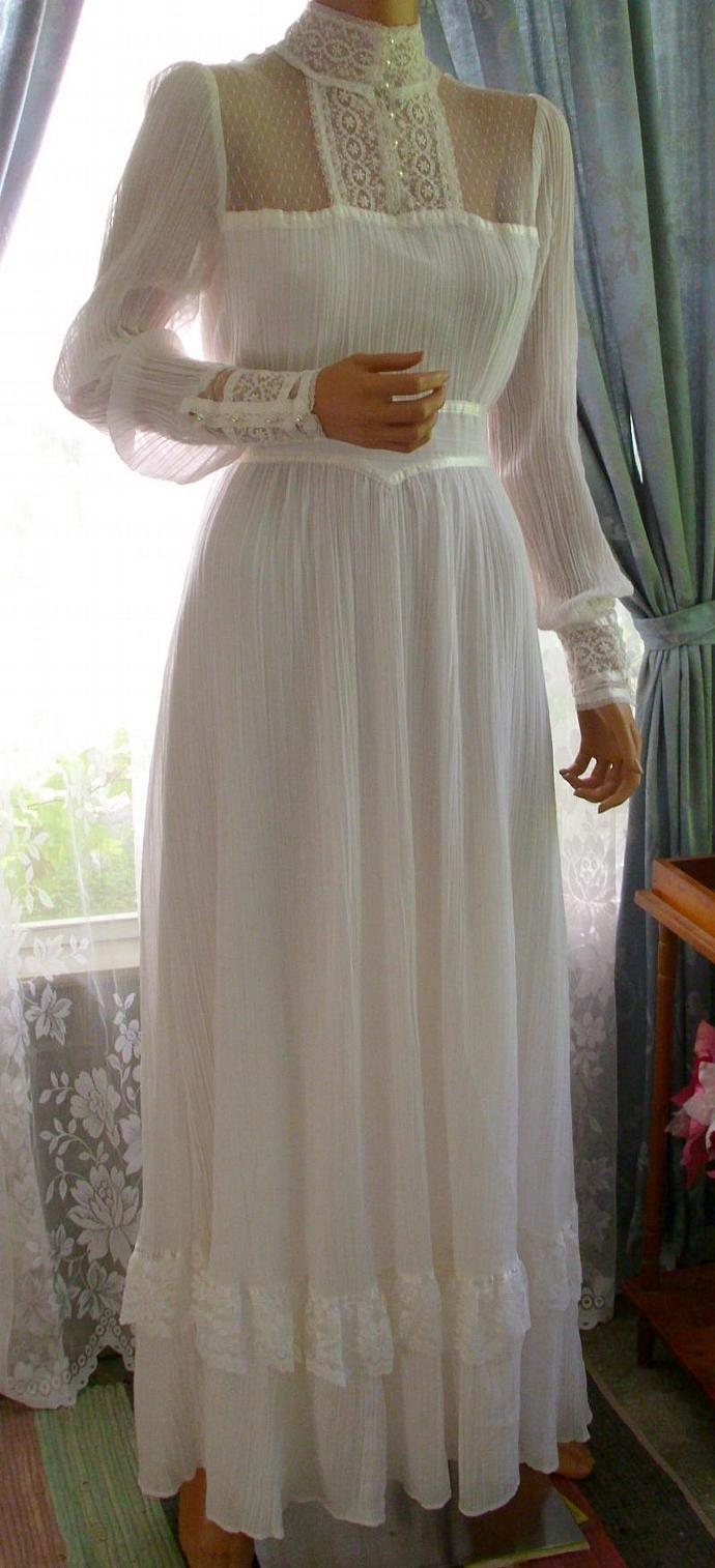 Vestiti Da Sposa Zingara.Vintage Gunne Sax Dress Abiti Da Sposa Duchessa Di Cambridge E