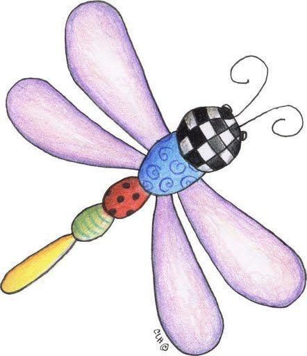 Libelula para imprimir | bordadod | Pinterest | Bugs, Embroidery ...