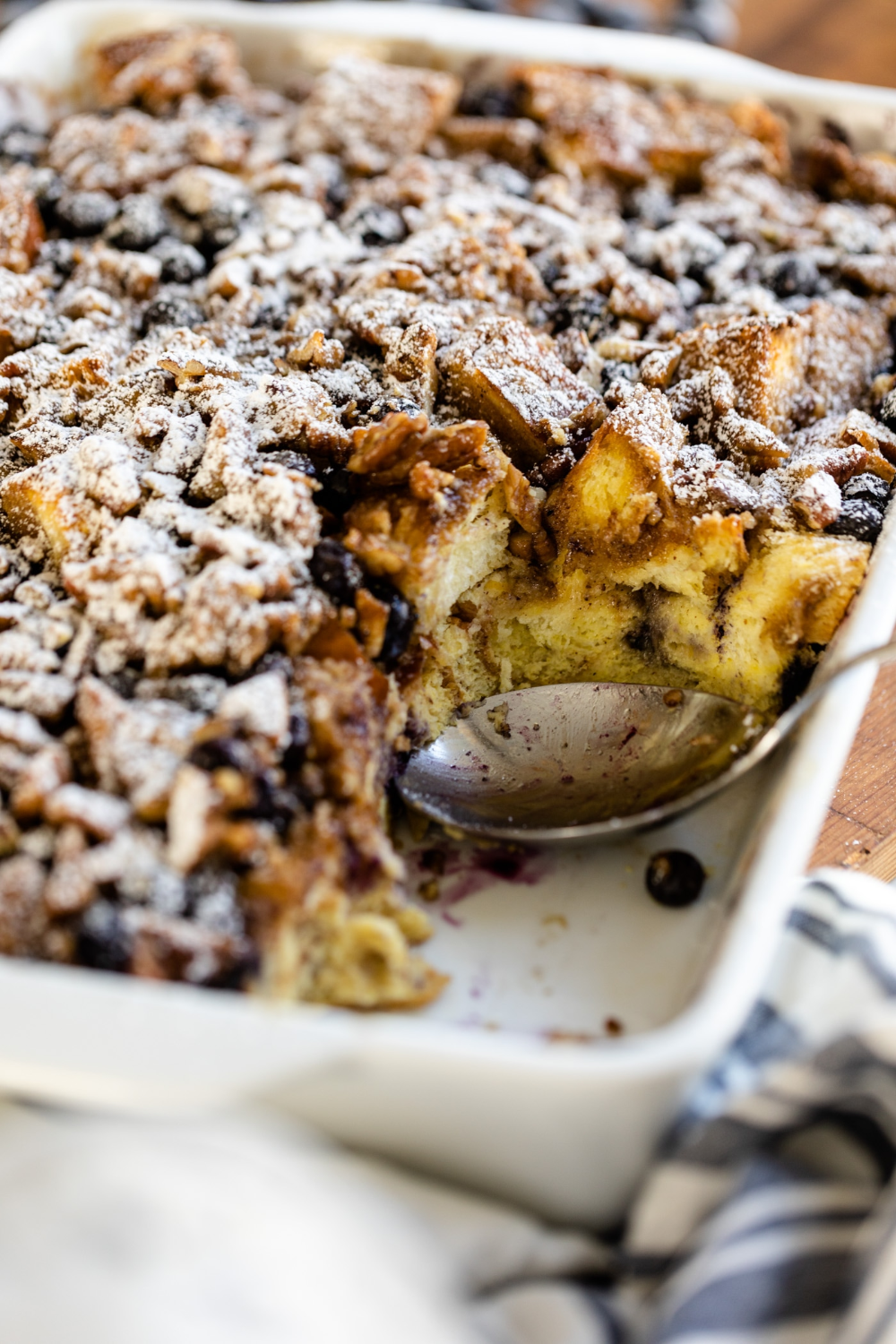 Overnight Blueberry French Toast | Recipe in 2020 ...