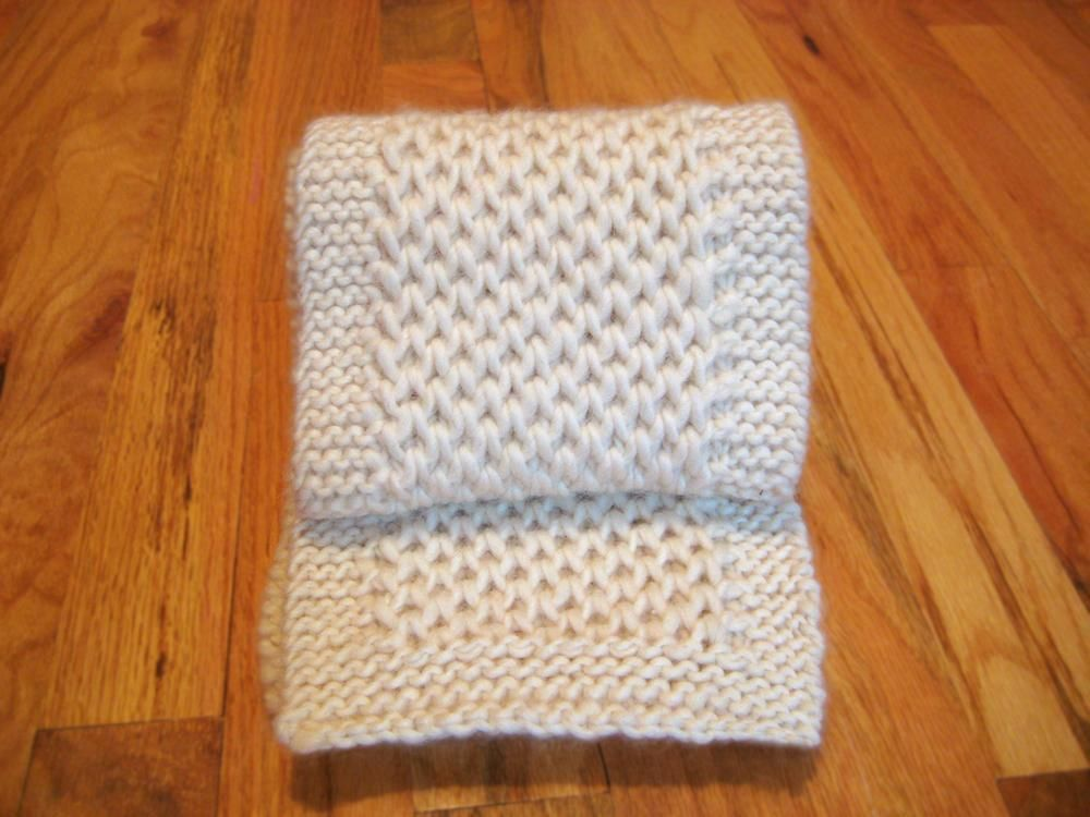 Tesoro Knit Scarf No Pattern Simple To Make Knit 4 Rows To Start Always Start Rows Knitting