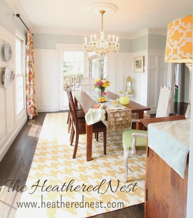 This Too-Formal Dining Room Gets a Fun Makeover Room, Small dining