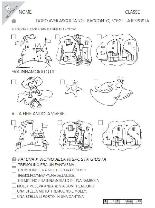 Giochi e colori schede didattiche del maestro fabio - Parole con due significati diversi ...