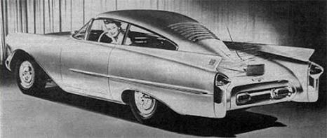Oldsmobile Cutlass Concept Car, 1954