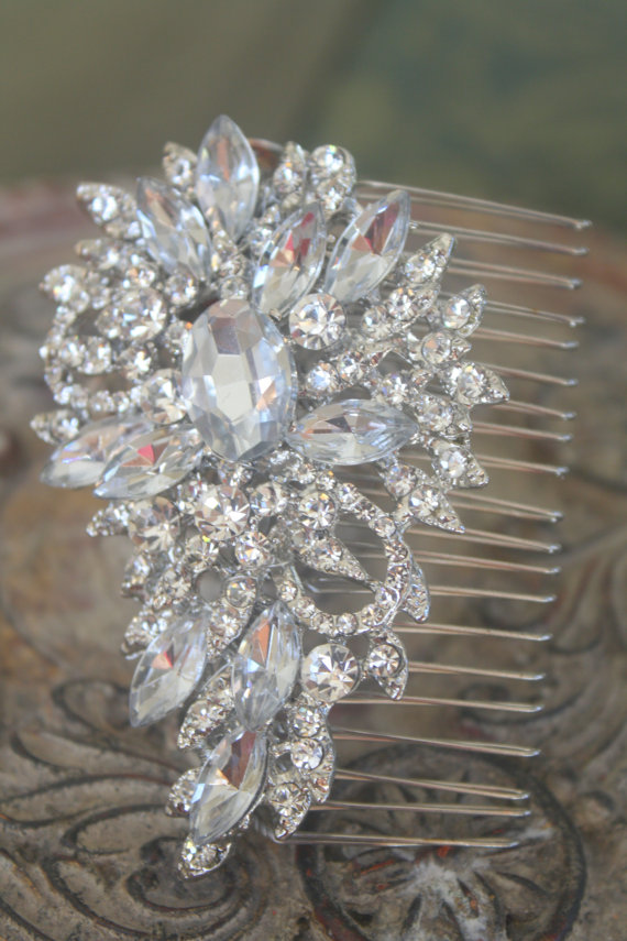 Bridal Hair Comb Wedding Hair Comb Wedding Hair by AbbyPlace ...