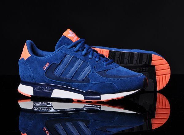 various colors 52c62 88e99 Adidas ZX850 Tribe Blue