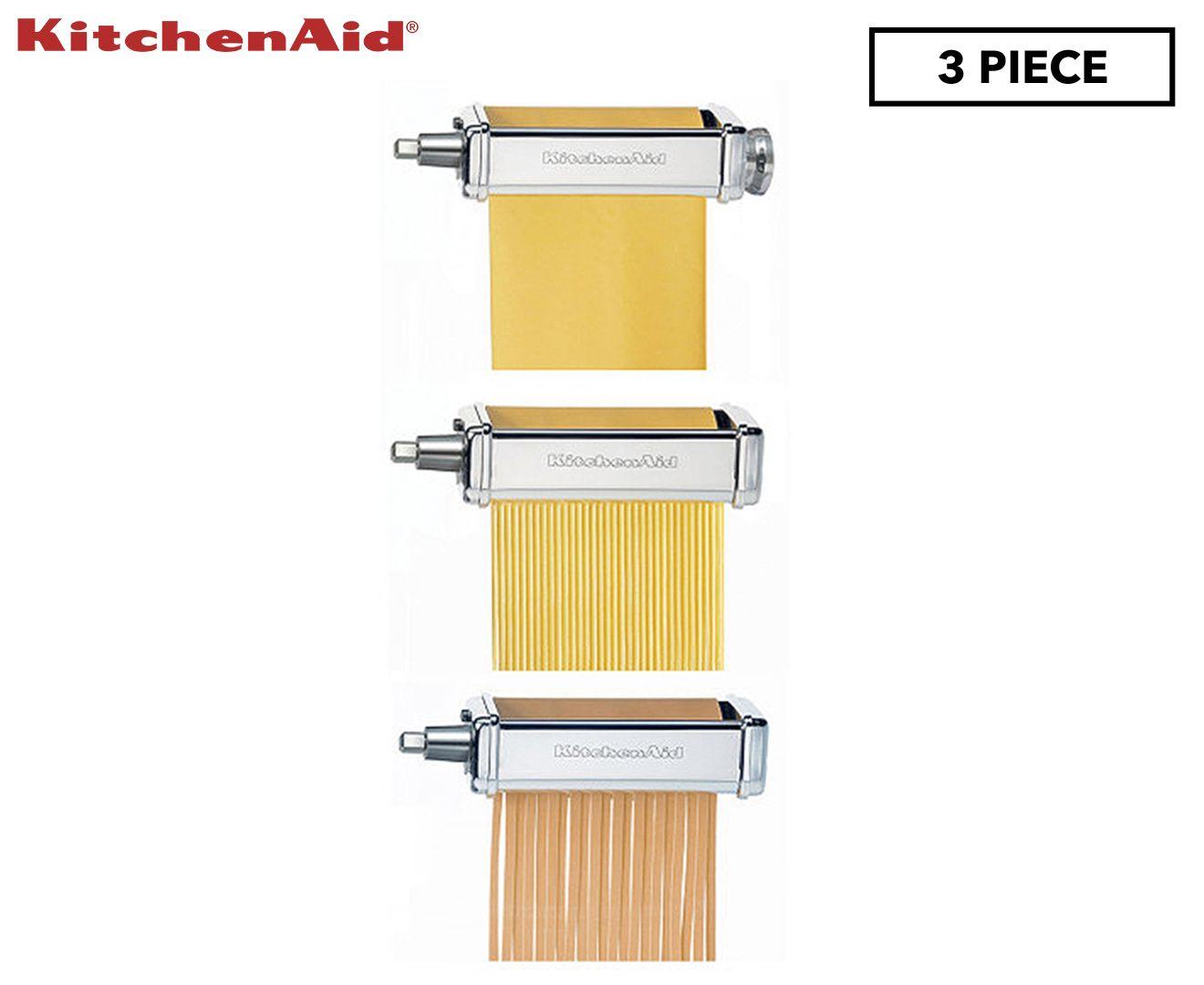 Kitchenaid 3piece pasta roller attachment kitchenaid