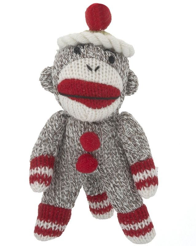 Who had a sock monkey as a kid!? www.christmasornaments ...