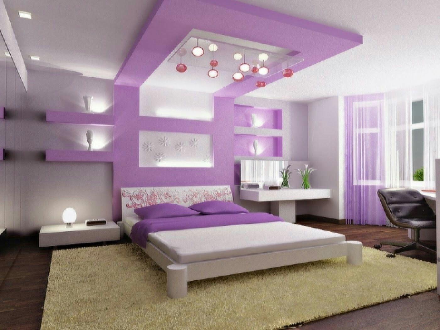 Modernes schlafzimmer lila  Pin von Jessica auf Decoración de casa | Pinterest