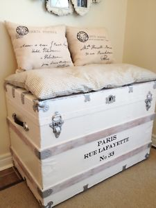 Old Chest Ideas Antique Trunks Vintage Suitcases