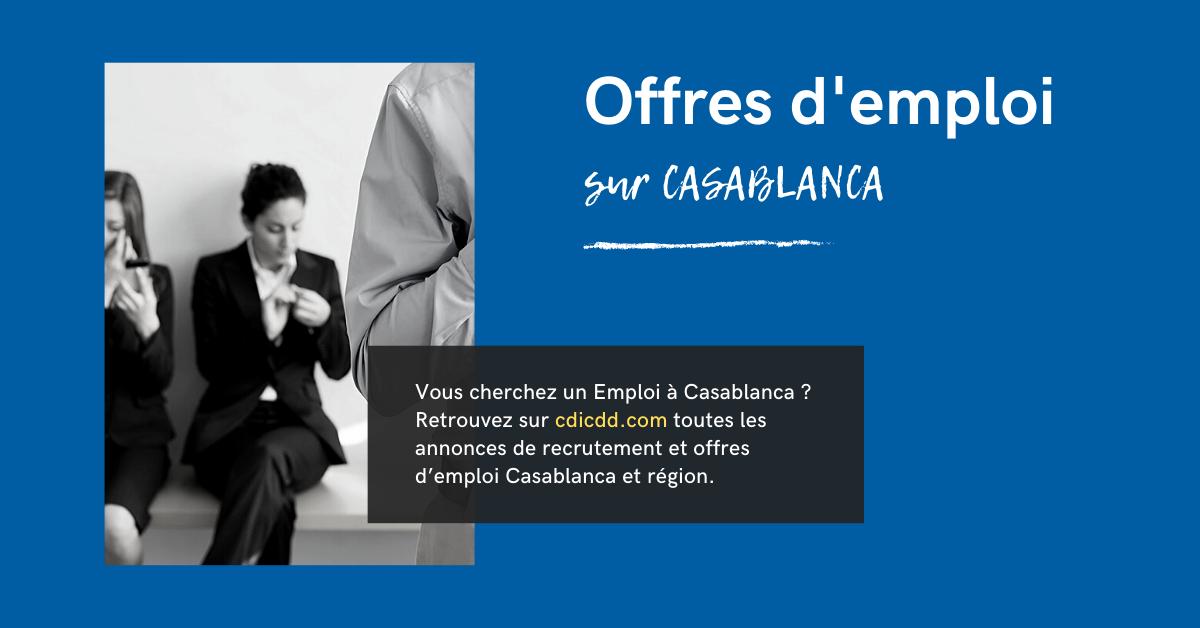 Categorie Emploi Casablanca Cdicdd Com In 2020 List Of Careers Job Title Job