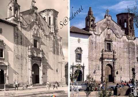 Templo de San Agustín, Pátzcuaro, Michoacán, México.