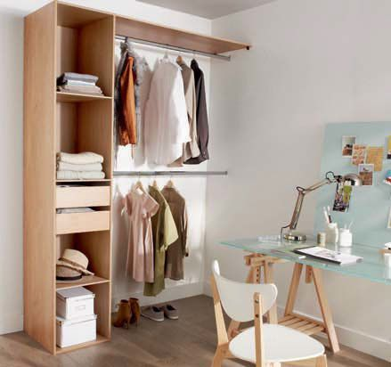 Dressing : ranger ses affaires dans un dressing, optimiser le ...