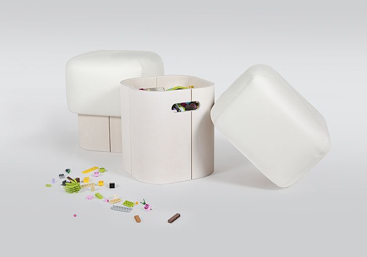 We can't keep our eyes away from them! Besides, they are also extremely practical since they offer storage space and the cover is easily removed and washed. http://petitandsmall.com/lumokids-furniture-scandinavian-chic/