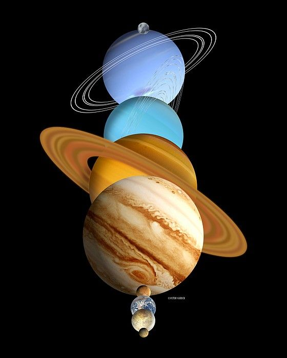 solar system planets in order of distance from sun - photo #26