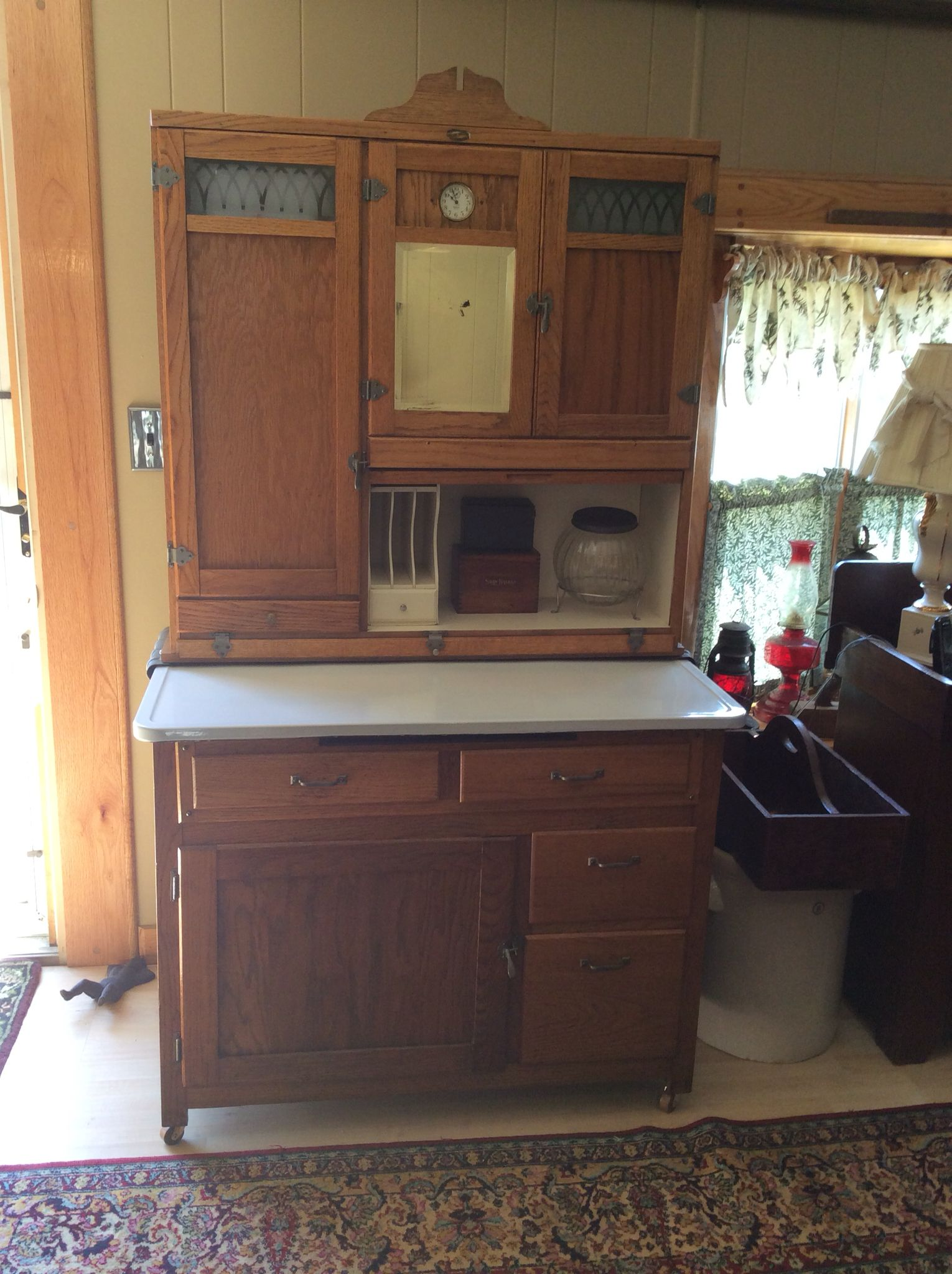 Best Helen Boone Kitchen Cabinet Hoosiers And All Related 400 x 300