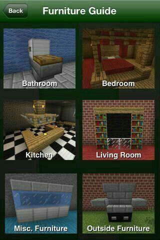 Furniture guide #ad Minecraft Pinterest Minecraft, Minecraft