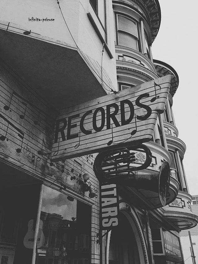 Pin By Mitch Chanet On Record Store Black White Black