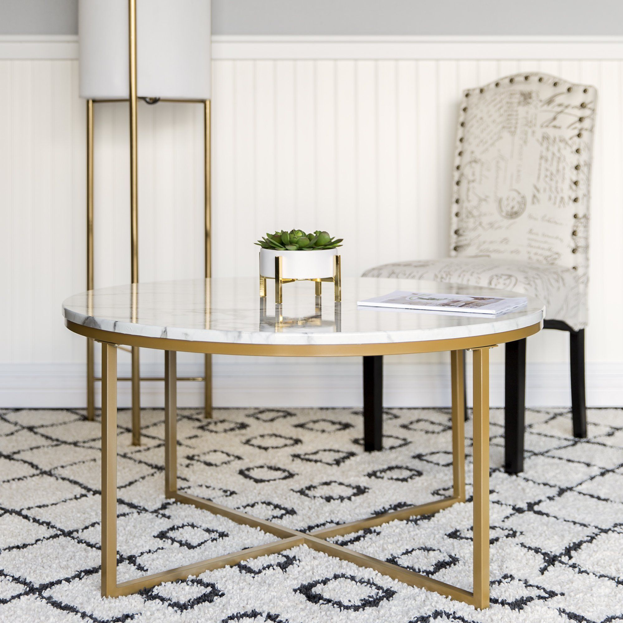 Best Choice Products 36in Faux Marble Modern Living Room Round Accent Side Coffee Table W Metal Frame White Bronze Gold Walmart Com In 2021 Marble Tables Living Room Round Coffee Table Living Room [ 2000 x 2000 Pixel ]