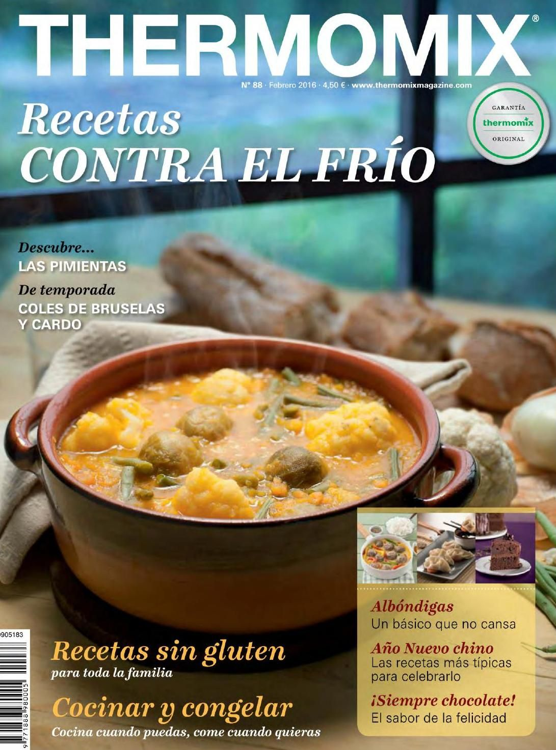 Libros Thermomix Revista Thermomix Febrero 2016 By Argent Issuu Recetas