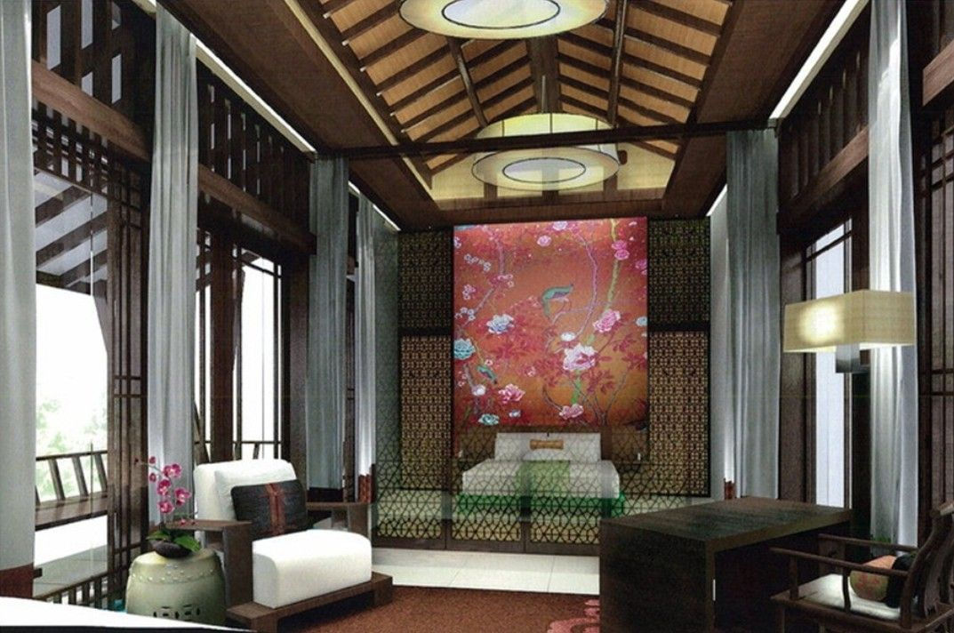 Chinese Palace Style Bedroom Design Download 3d House | Asian ...