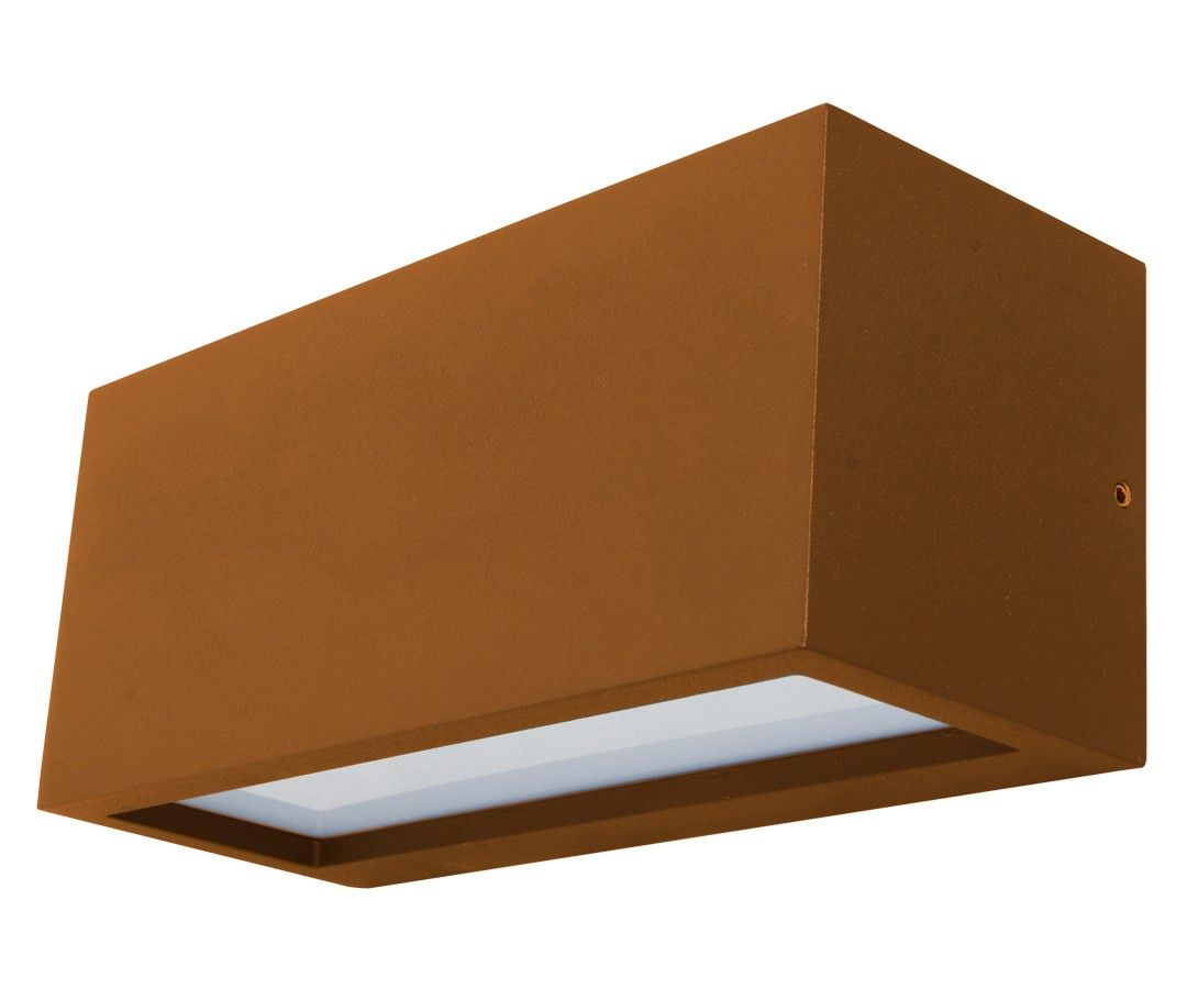 Lampade A Sospensione Allaperto : Tucson light up down exterior wall bracket in rust outdoor