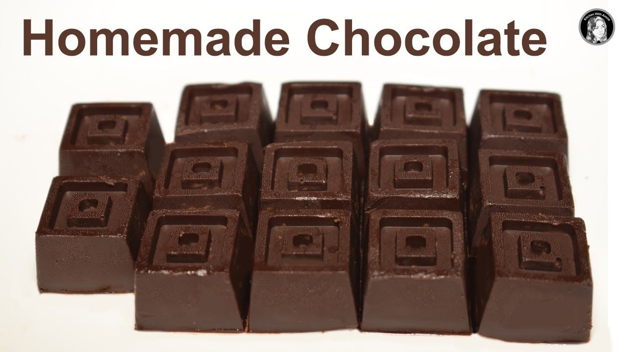 Homemade Chocolate Recipe With 3 Ingredients How To Make Chocolate Rec Homemade Chocolate Chocolate Recipes Homemade Chocolate