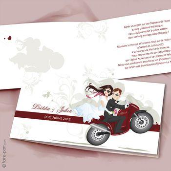 mariage – Une moto pour 2