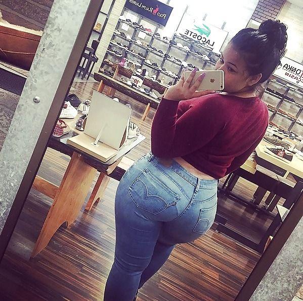 Thick Latina Booty Bootymeat Asspics