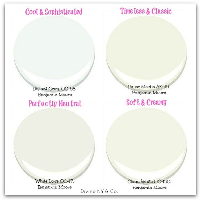 studio mcgee's favorite white paint colors | ~ paint colors