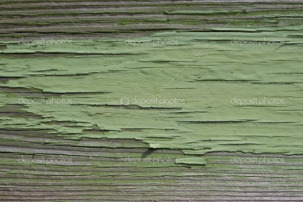Green wood highlights for living room.