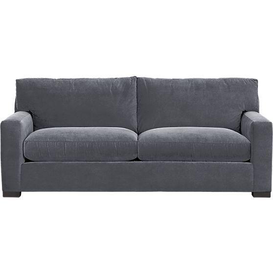 Axis Ii 2 Seat Queen Sleeper Sofa In Sleeper Sofas Crate And Barrel Sofa Comfortable Sofa
