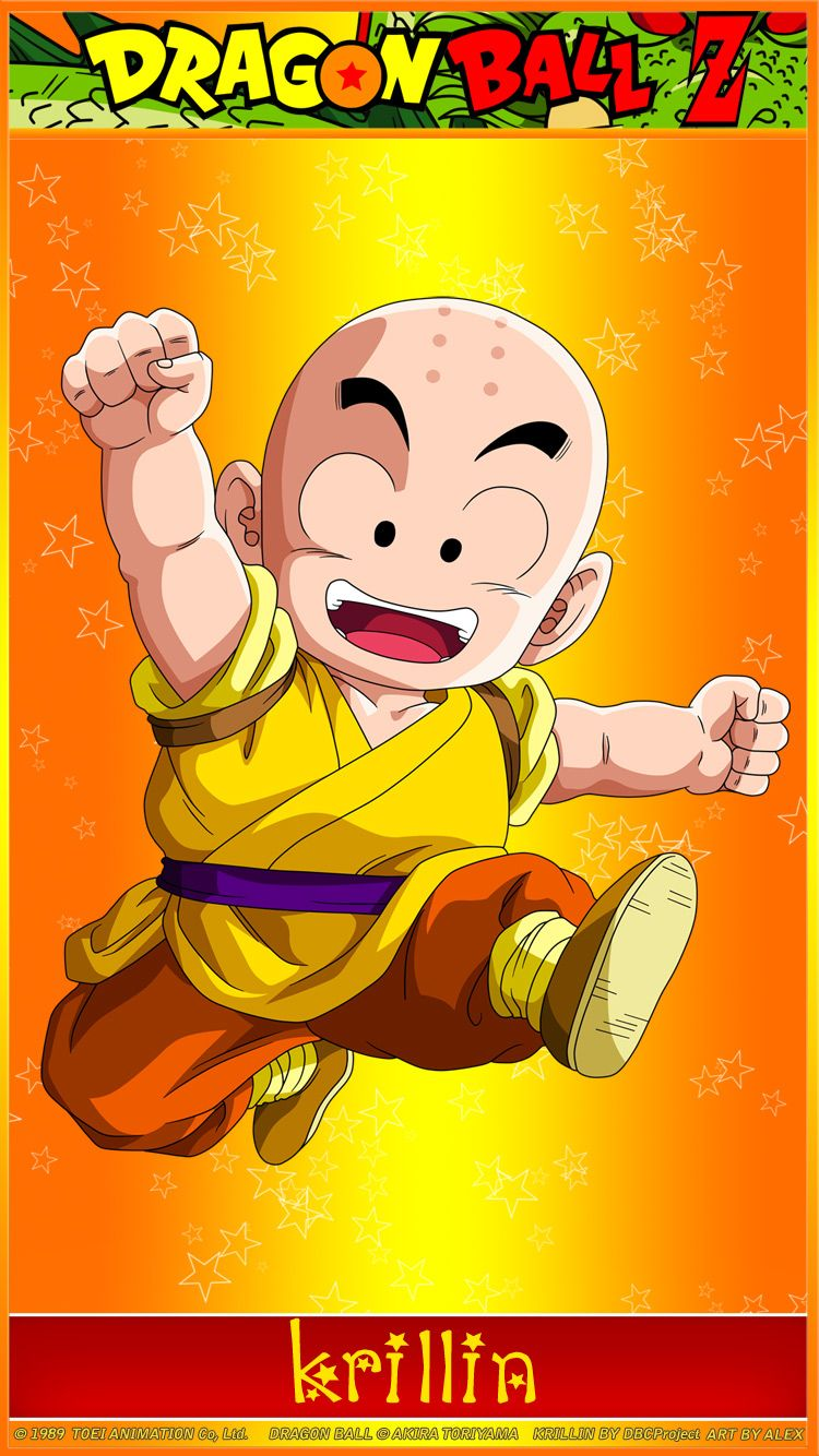 Dragon Ball Z Hd Widescreen Iphone Wallpapers Dragon Ball Z Krillin Wallpaper Http Www Fabuloussavers Com Dragon Ball Wallpapers Dragon Ball Dragon Ball Z