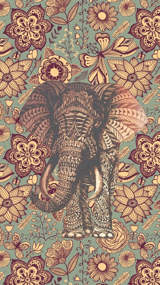 Good Vibes Same Elephant Design I Have Plastered On My Phone Case
