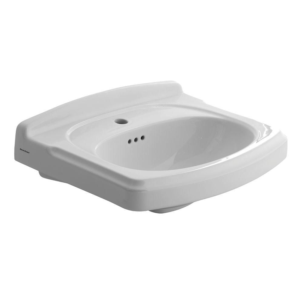 American Standard Portsmouth 19 5 In Pedestal Sink Basin With