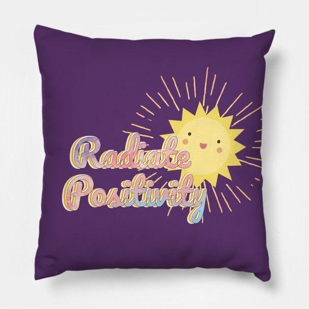 Radiate Positivity Kawaii Sun  Throw Pillow / Floor Pillow.  #college #university #dormdecor #dorm #collegelife #universitylife #student #teen  #bedroom #livingroom #homedecor #apartment #decor #newlywed #couple  #throwpillow #pillows #hugs #cushion #bedroom #sofa #livingroom #withwords  #bigpillow #floorpillow #gifts  #redbubble #teepublic #radiatepositivity #sunshine #sunny #happy #quote #positive #goodvibes #newlywedbedroom